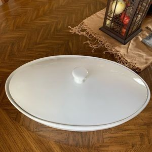 Food Network serving dish with lid
